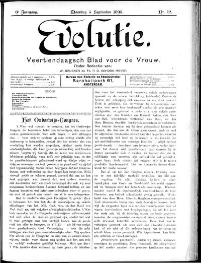 Evolutie: weekblad voor de vrouw, jaargang 06, nummer 12