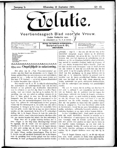Evolutie: weekblad voor de vrouw, jaargang 09, nummer 13