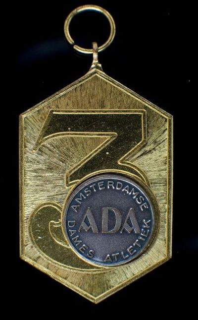 Medaille. Medaille van de Amsterdamse Dames Atletiek (ADA)
