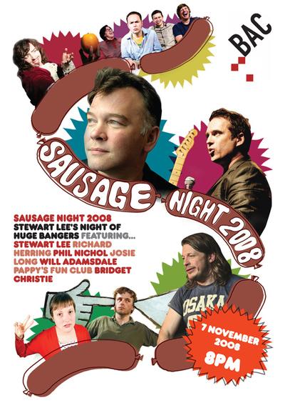 Sausage Night: Stewart Lee's Night of Huge Bangers