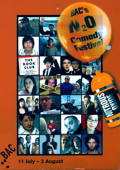 N2O comedy festival