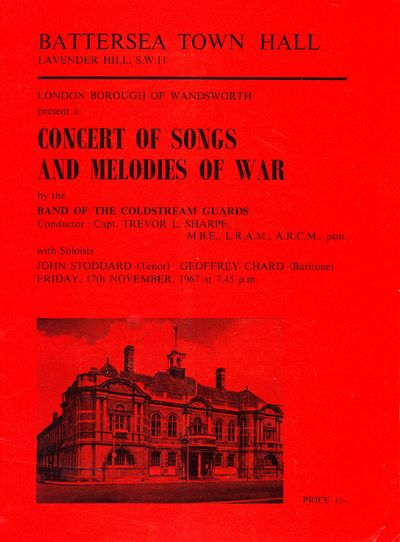 Concert of Songs and Melodies of War, 17 November 1967