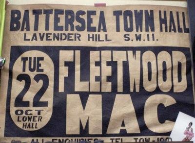 Fleetwood Mac at Battersea Town Hall