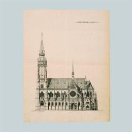 Projekt za glavno pročelje župne crkve Svetih Petra i Pavla