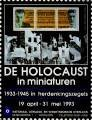 De holocaust in miniaturen; 1933-1945 in herdenkingszegels.