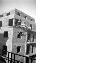Οικοδομικές εργασίες. Αθήνα, γύρω στα 1935 Έλλη Παπαδημητρίου (ΦΑ_19_592)