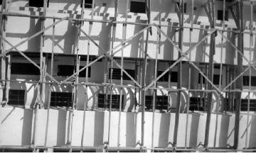 Σκαλωσιά. Αθήνα, γύρω στα 1935 Έλλη Παπαδημητρίου (ΦΑ_19_595)