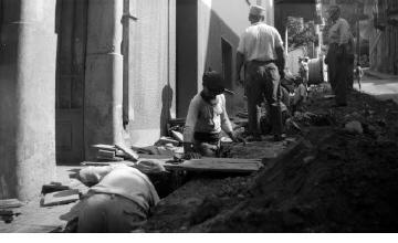 Έργα σε δρόμο. Αθήνα, γύρω στα 1935 Έλλη Παπαδημητρίου (ΦΑ_19_605)