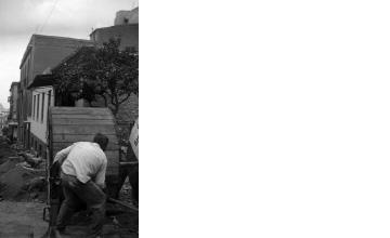 Έργα σε δρόμο. Αθήνα, γύρω στα 1935 Έλλη Παπαδημητρίου (ΦΑ_19_606)