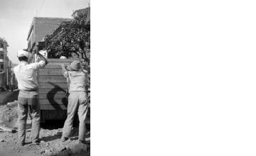 Έργα σε δρόμο. Αθήνα, γύρω στα 1935 Έλλη Παπαδημητρίου (ΦΑ_19_607)