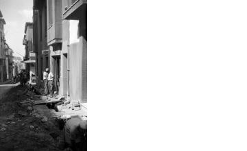 Έργα σε δρόμο. Αθήνα, γύρω στα 1935 Έλλη Παπαδημητρίου (ΦΑ_19_618)
