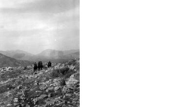 Έφιπποι άνδρες. Ήπειρος, γύρω στα 1935 Έλλη Παπαδημητρίου (ΦΑ_19_638)