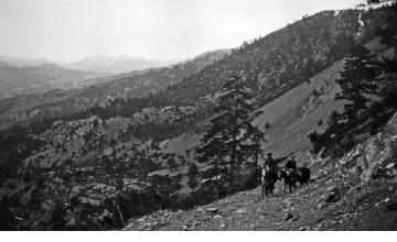 Έφιπποι άνδρες. Ήπειρος, γύρω στα 1935 Έλλη Παπαδημητρίου (ΦΑ_19_641)
