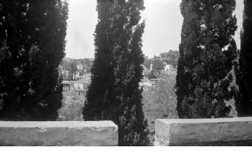 Άποψη χωριού από μπαλκόνι. Σάμος, γύρω στα 1935 Έλλη Παπαδημητρίου (ΦΑ_19_651)