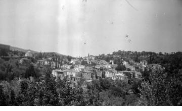 Άποψη χωριού. Σάμος, γύρω στα 1935 Έλλη Παπαδημητρίου (ΦΑ_19_652)