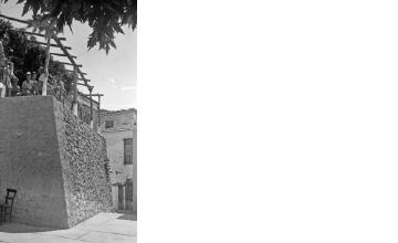 Παραδοσιακή ταβέρνα ή καφενείο. Γύρω στα 1935 Έλλη Παπαδημητρίου (ΦΑ_19_656)