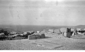 Αρχαιολογικός χώρος. Γύρω στα 1935 Έλλη Παπαδημητρίου (ΦΑ_19_659)