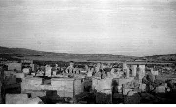 Αρχαιολογικός χώρος. Γύρω στα 1935 Έλλη Παπαδημητρίου (ΦΑ_19_663)