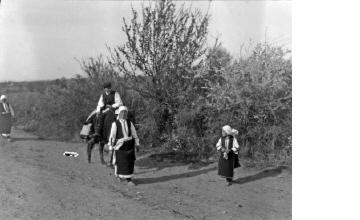 Πρόσφυγες από τη Θράκη. Φλώρινα, γύρω στα 1935 Έλλη Παπαδημητρίου (ΦΑ_19_730)