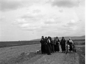 Μουσουλμάνες με παιδιά. Μακεδονία, γύρω στα 1935 Έλλη Παπαδημητρίου (ΦΑ_19_755)