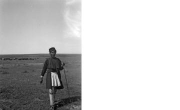 Βοσκός. Μακεδονία, γύρω στα 1935 Έλλη Παπαδημητρίου (ΦΑ_19_758)