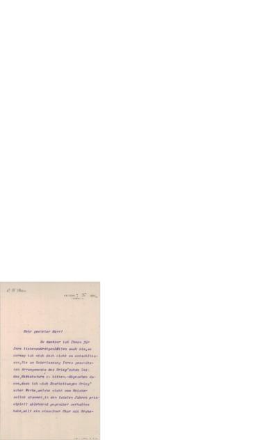 Brev, 1902 10.07, Leipzig, til Edvard Grieg