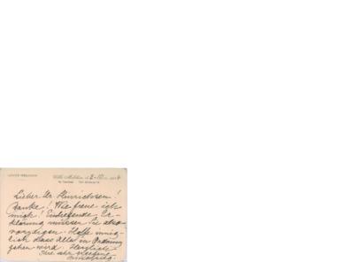 Brev, 1916 10.02, Ny Taarbæk, til Henri Hinrichsen