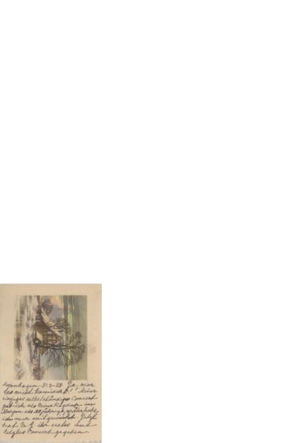 Postkort, 1928 03.05, København, til Henri Hinrichsen
