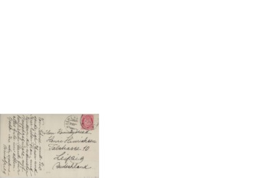 Postkort, udatert, Holmenkollen Sanatorium, til Henri Hinrichsen