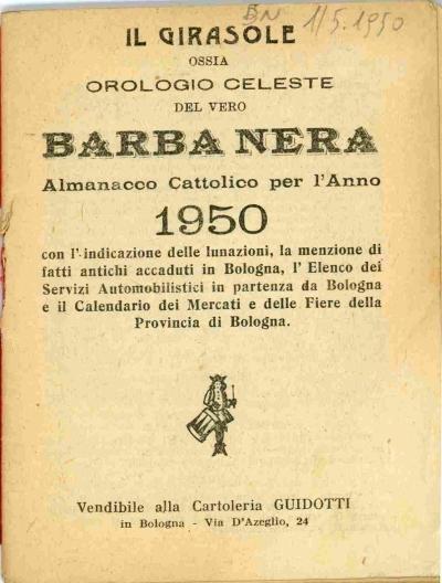 Calendario 1950.Omnia Per L Anno 1950 Con L Indicazione Delle Lunazioni