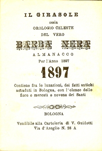 Almanacco per l'anno bisestile 1897 ...