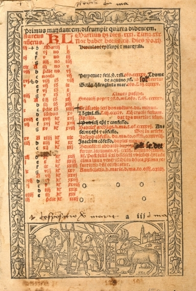 Primus mandantem disrumpit quarta bibentem Martius dies 31 ...