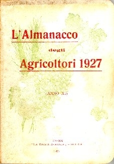 L'almanacco degli agricoltori