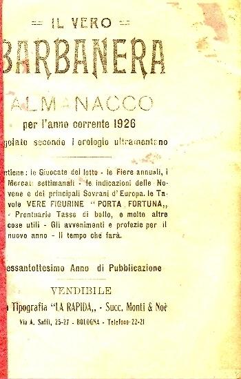 68: Per l'anno corrente 1926