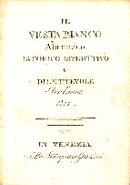 Il Vesta bianco : almanaco [!] istorico istruttivo e dilettevole