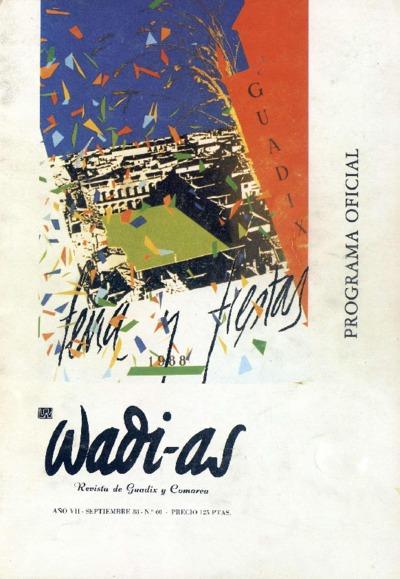 Wadi-as : informativo comarcal: Año VII Número 60 - 1988 septiembre 1