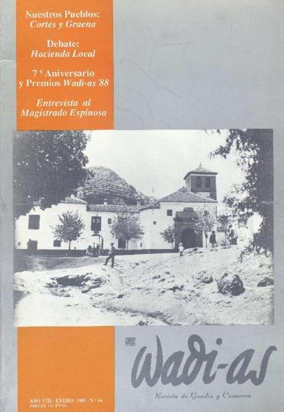 Wadi-as : informativo comarcal: Año VIII Número 64 - 1989 enero 1