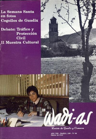 Wadi-as : informativo comarcal: Año VIII Número 66 - 1989 marzo 1
