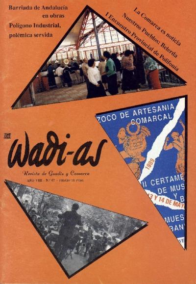 Wadi-as : informativo comarcal: Año VIII Número 67 - 1989 abril 1
