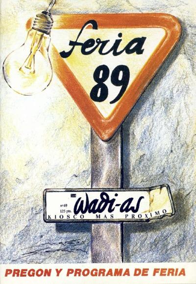 Wadi-as : informativo comarcal: Año VIII Número 69 - 1989 agosto 1