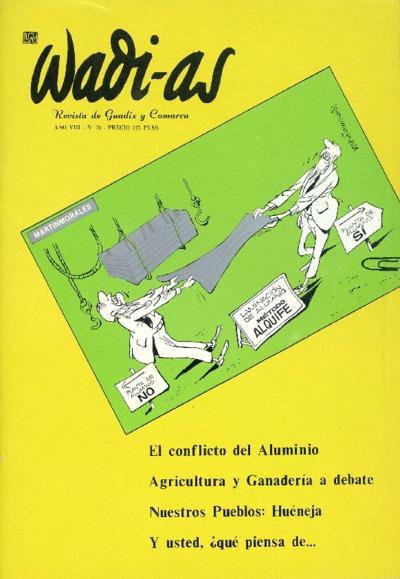 Wadi-as : informativo comarcal: Año VIII Número 70 - 1989 octubre 1