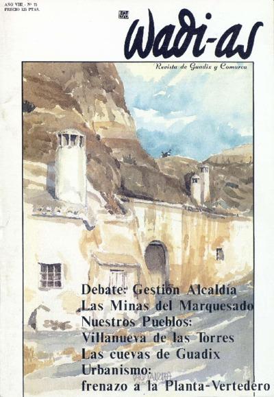 Wadi-as : informativo comarcal: Año VIII Número 75 - 1990 mayo 1
