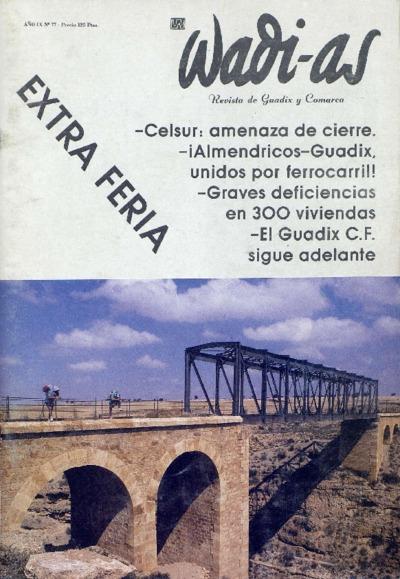 Wadi-as : informativo comarcal: Año IX Número 77 - 1990 julio 1