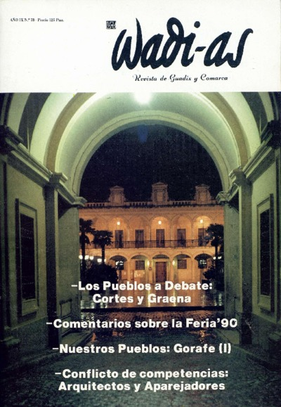 Wadi-as : informativo comarcal: Año IX Número 78 - 1990 septiembre 1