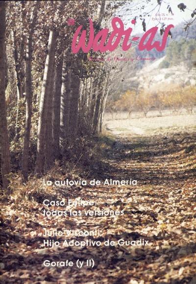 Wadi-as : informativo comarcal: Año IX Número 79 - 1990 noviembre 1