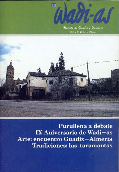 Wadi-as : informativo comarcal: Año X Número 81 - 1991 febrero 1