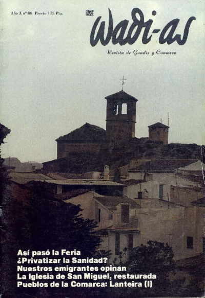 Wadi-as : informativo comarcal: Año X Número 86 - 1991 octubre 1