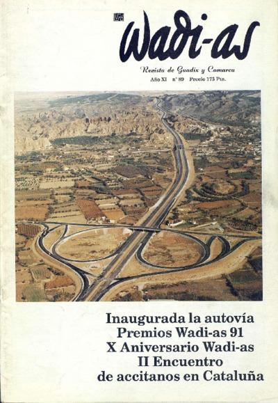 Wadi-as : informativo comarcal: Año XI Número 89 - 1992 enero 1