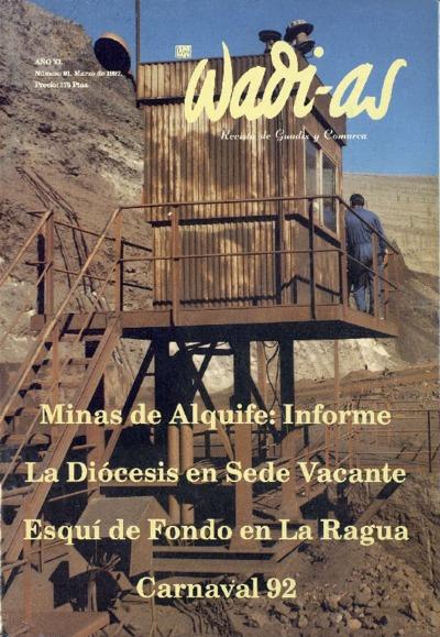 Wadi-as : informativo comarcal: Año XI Número 91 - 1992 marzo 1