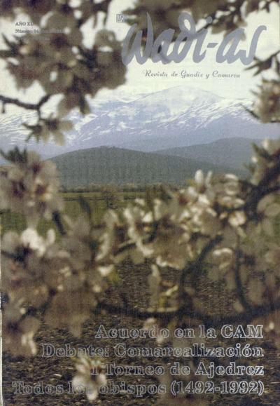 Wadi-as : informativo comarcal: Año XI Número 94 - 1992 junio 1